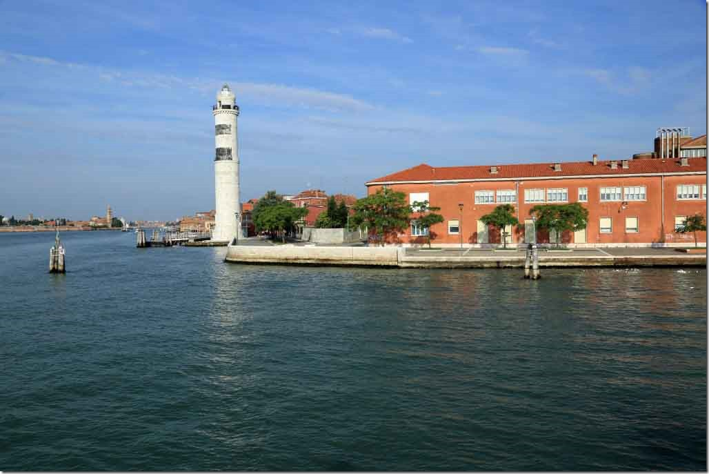 Tour Approach Murano Island lighthouse