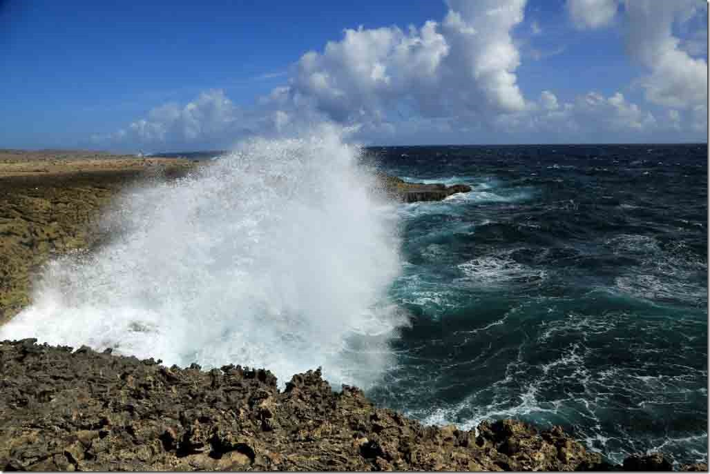 Christoffel National Park with trade winds pounding ashore 3