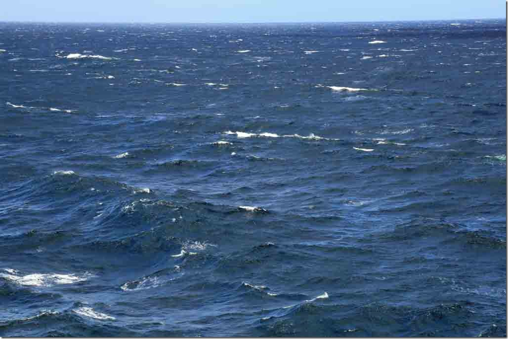 Gale force SE trade winds Aug 12th