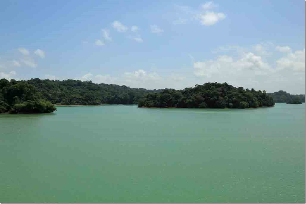 Gatun Lake some of the many islands