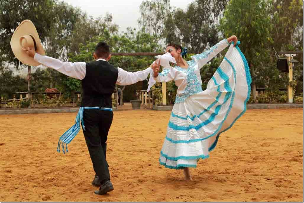 Hacienda Mamacona dancers third dance 1