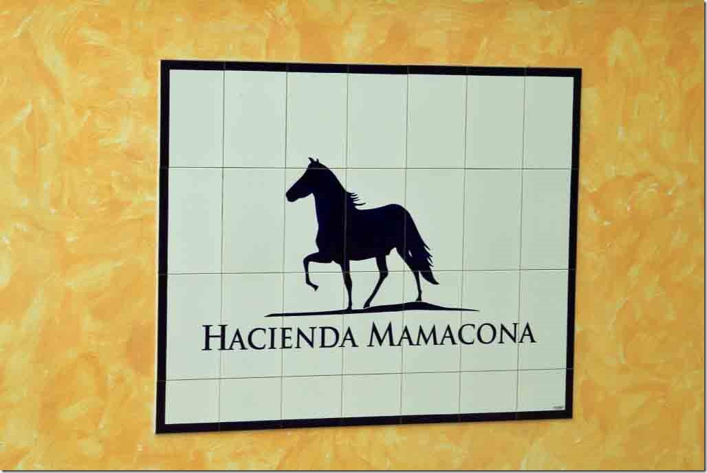 Hacienda Mamacona which we visited for the horse show and lunch