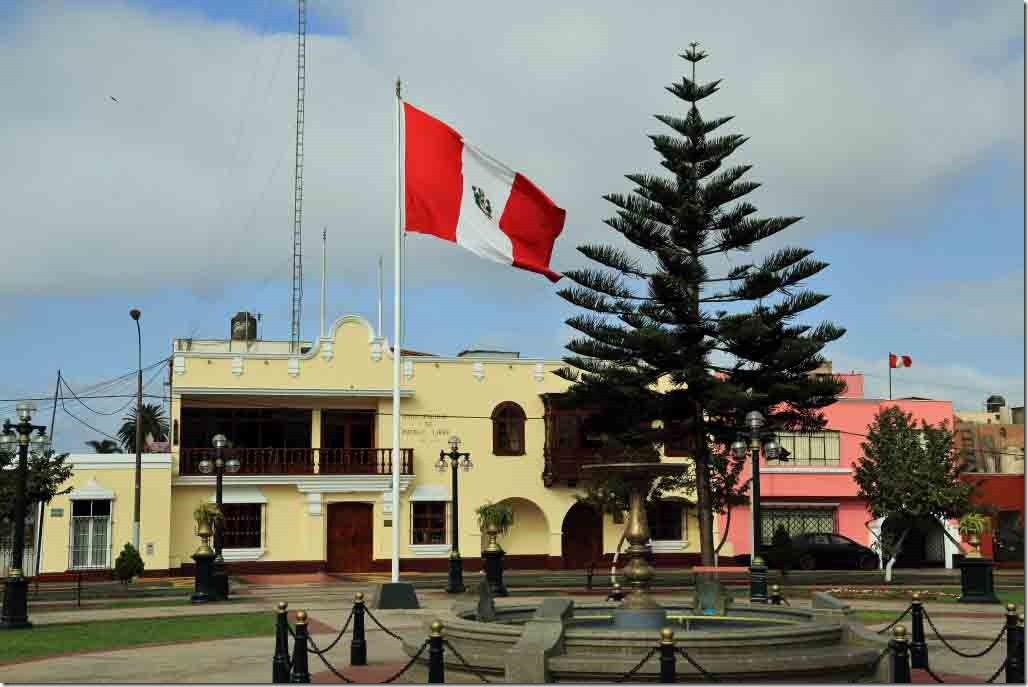 Municipal hall for city that is home to the museum