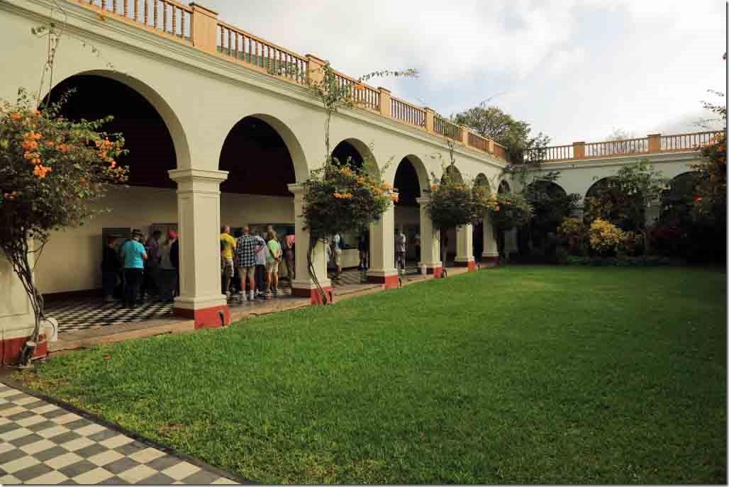 Museum inner courtyard