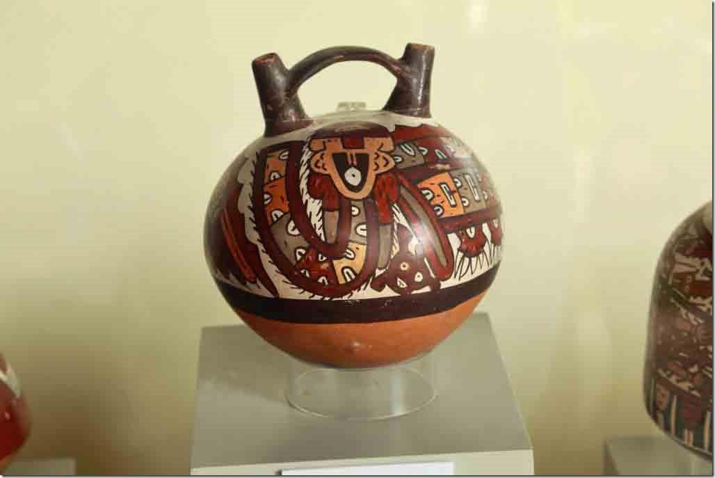 Museum Nasca pottery piece