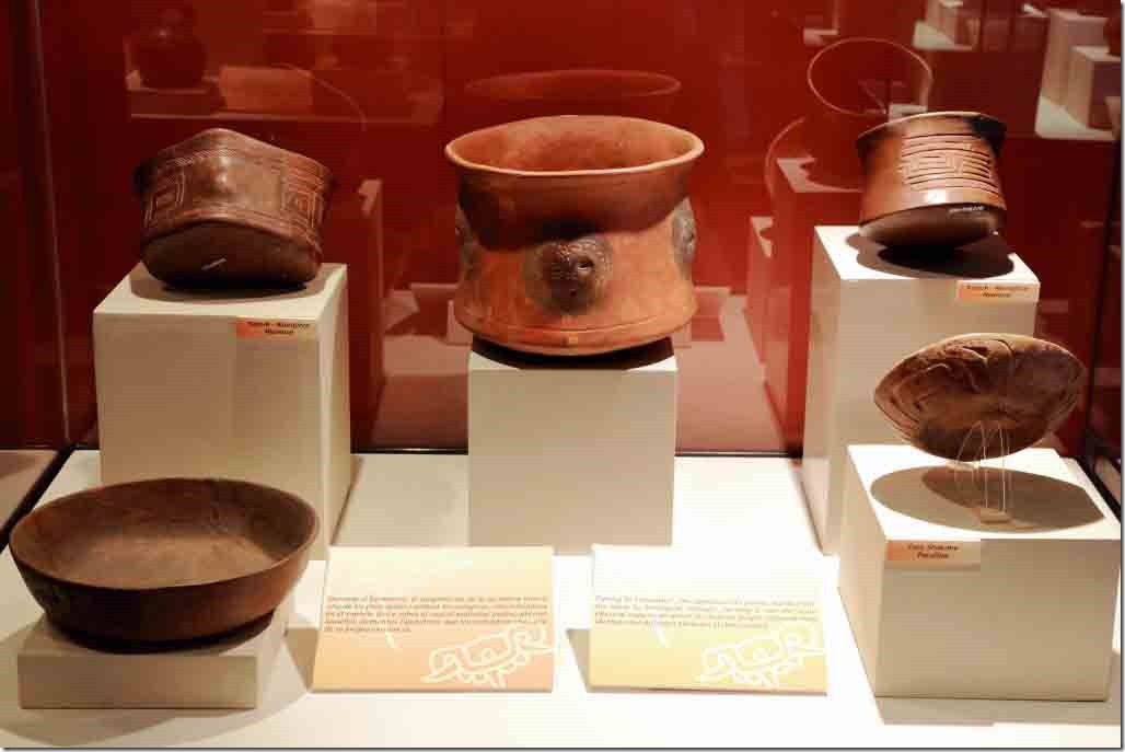 Museum some of the earliest ceramics from 2000 BC to 800 BC