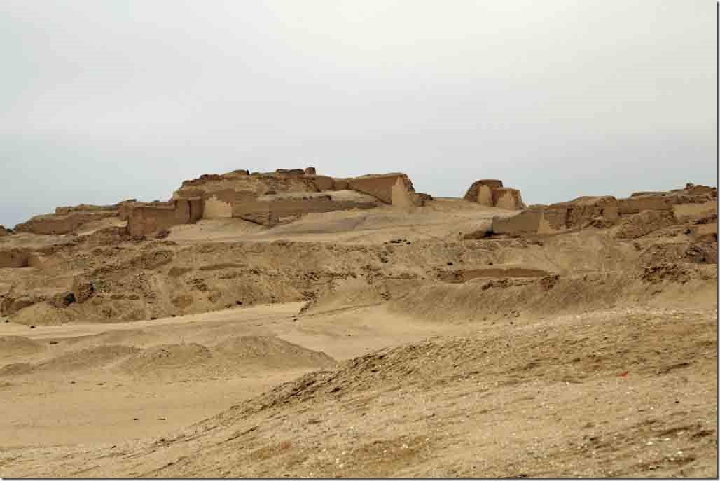 Pachacamac Ruins additional temples next to the one we stopped in front of
