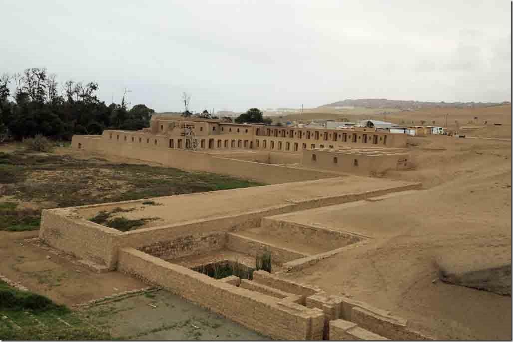 Pachacamac Ruins Inca temple