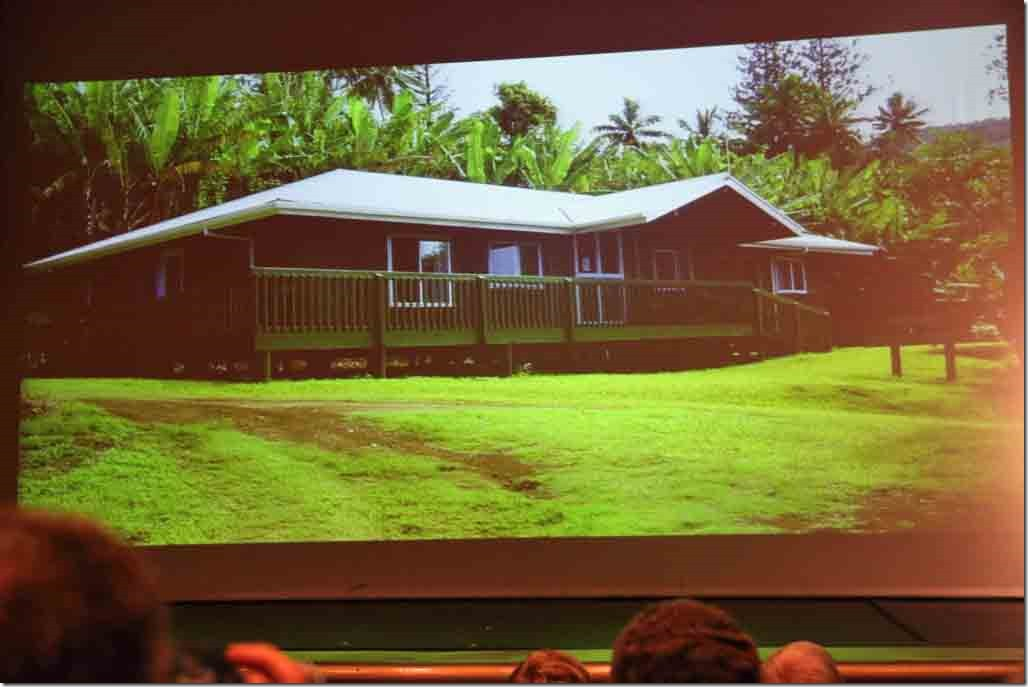 Pitcairn lecture medical centre with current doctor from New Zealand