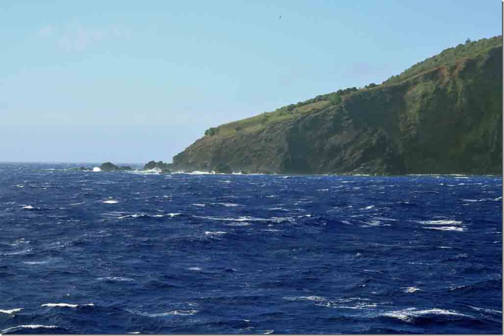 Scenic cruise SW side of Pitcairn Island and Christian Point