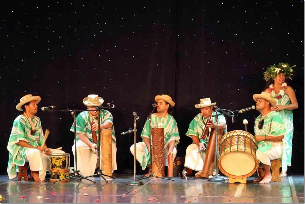 Tahiti Ora drummers