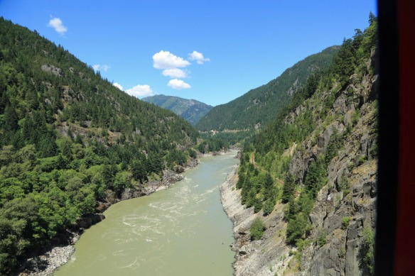 Fraser Canyon fron Hells Gate