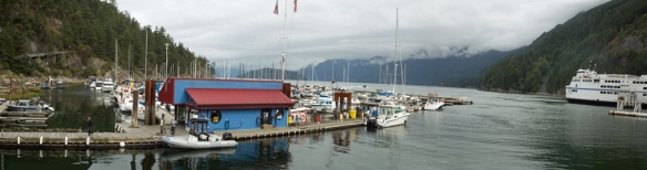 Horseshoe Bay panorama