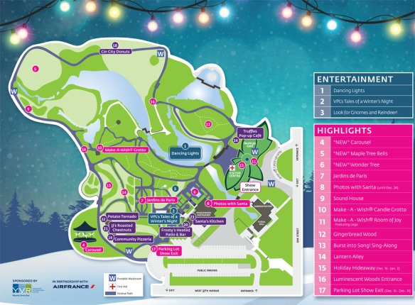 Festival of Lights map