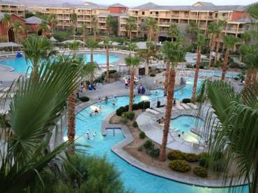 Lazy river & main pool