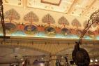 Harrods ceiling artwork in Fishmongers