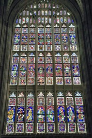 Canterbury Cathedral - stained glass window 2