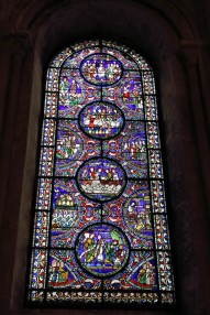 Canterbury Cathedral - stained glass window 3