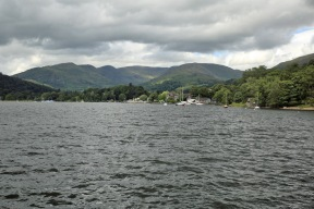 Lake Windermere approaching Ambleside