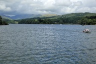 Lake Windermere east shore above Bowness