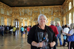 137 Catherine's Palace Judi in the gold room