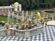 151 Peterhof Palace - overlooking Grand Cascade