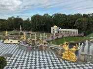 154 Peterhof Palace - Grand Cascade balcony