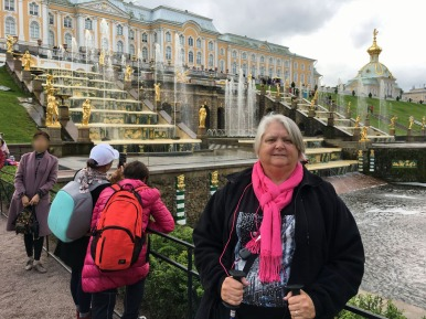 157 Peterhof Palace - Judi at Grand Cascade