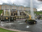 160 Peterhof Palace, Grand Cascade and Sampson Fountain