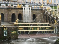 161 Peterhof Palace - Grand Cascade and Fountains