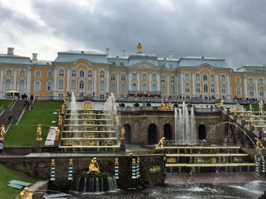163 Peterhof Palace from lower garden