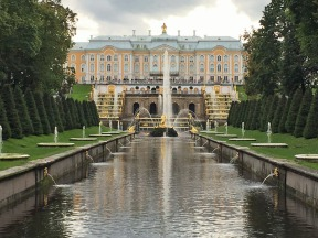 164 Peterhof Palace - from 1st bridge