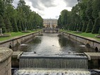 166 Peterhof Palace and waterfall