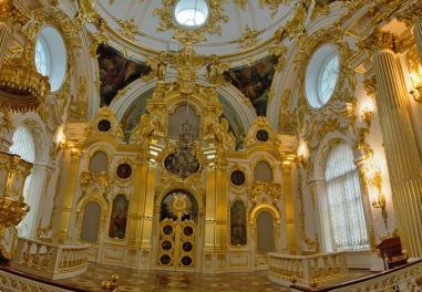 45 Hermitage Winter Palace Grand Church panorama