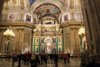 80 St Isaac's Cathedral inside 2