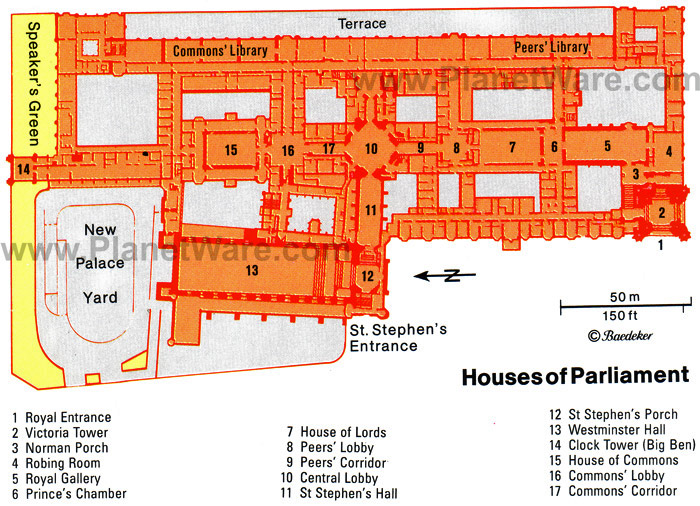Houses Of Parliament Map london houses of parliament map – planetware | Andy & Judi's