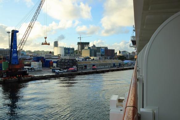 02 Approaching berth in Suva