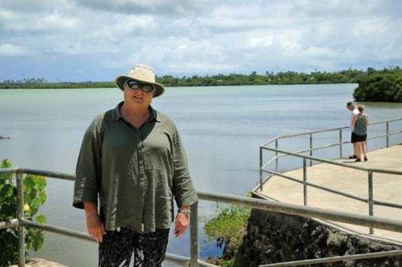 15 Judi at Capt Cook landing site
