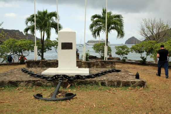 16 Memorial for marines who landed ashore
