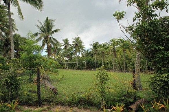 21 Garden with Palm Trees above Ha'atafu Beach