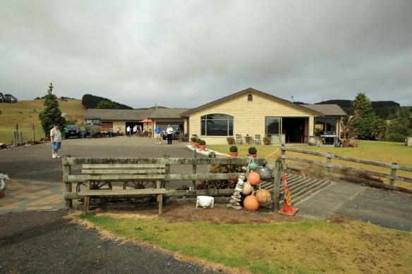 Haumoana Farm house and tearoom in the garage