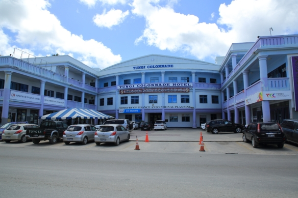 Hotel and govt building