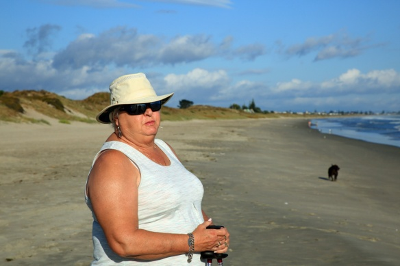 Judi at Papamoa Beach