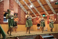 Marae ceremony ladies dancing 2
