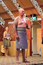 Marae ceremony tribal chief