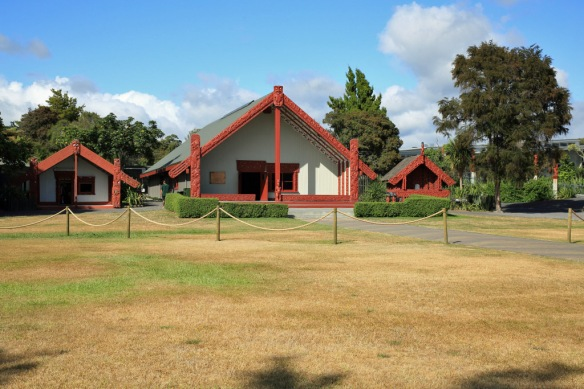 Marae or traditional gathering place