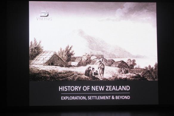 Resident historian history of NZ