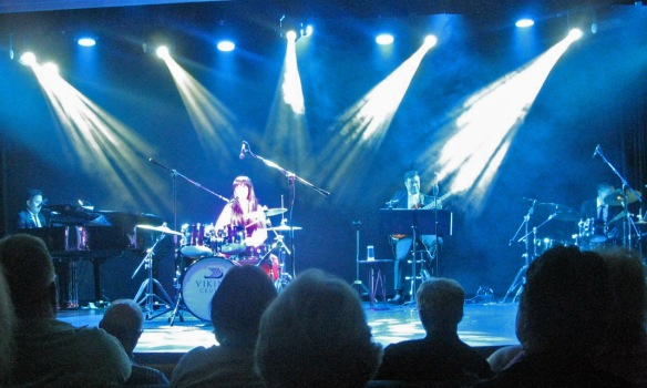 Sharon Calabro on drums