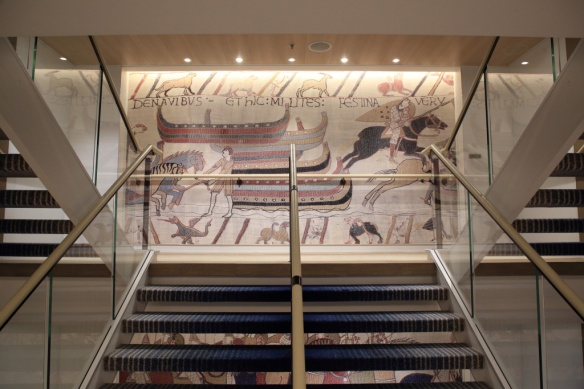 Stairwell tapestry