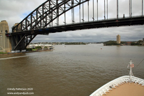 29 Sydney passing under bridge - Copy